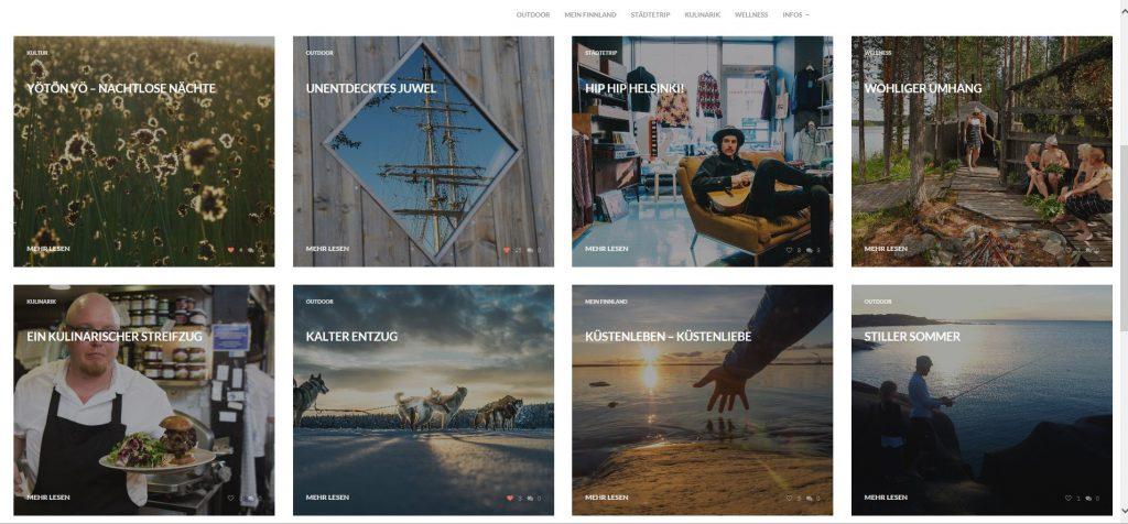 Dein Finnland: Screenshot der Internetseite www.dein-finnland.de: aland3