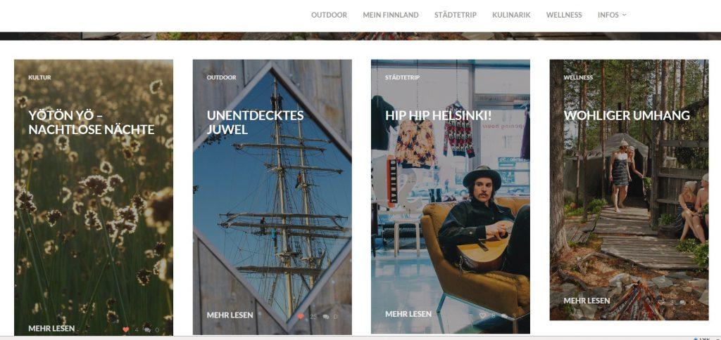 Dein Finnland: Screenshot der Internetseite www.dein-finnland.de: aland7