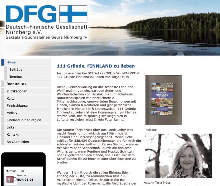 DFG Bericht Ueber 111 Gruende Finnland zu lieben