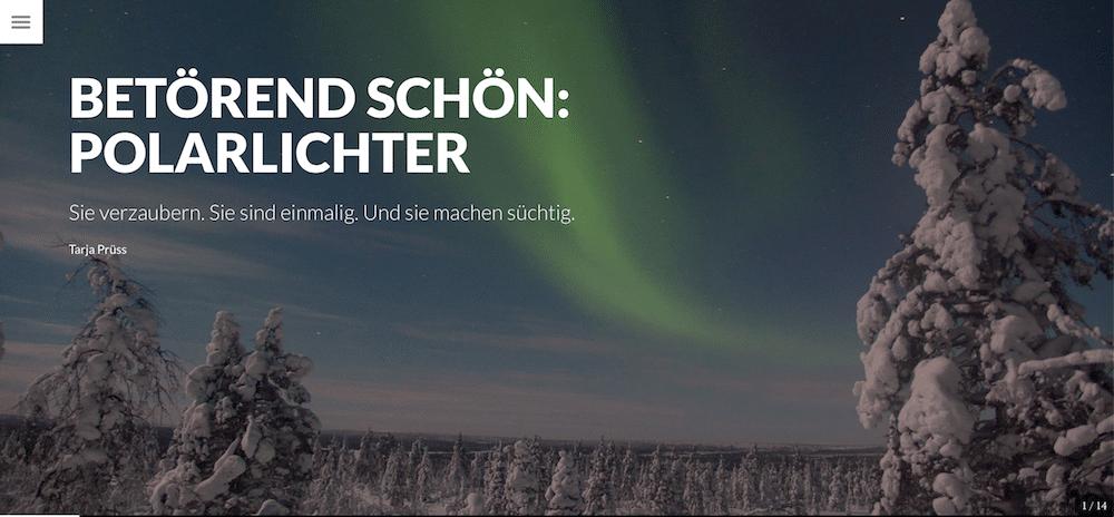 Meine ersten Polarlichter: polarlichtartikel-dein-finnland