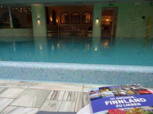 Lesung in Sauna - Spa Bereich des Hotels Hochschober ©Foto: Tarja Prüss | Tarjas Blog - Alles über Finnland