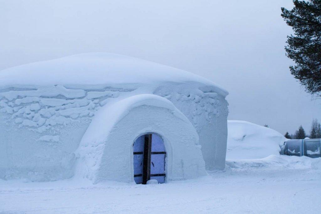 Schneehotel Snow Village Lainio Finnland ©Foto: Tarja Prüss | Tarjas Blog