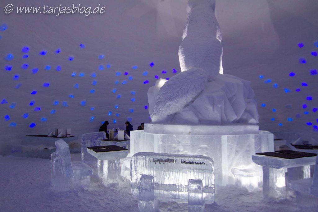 Eishotel snowvillage Lappland, Finnland