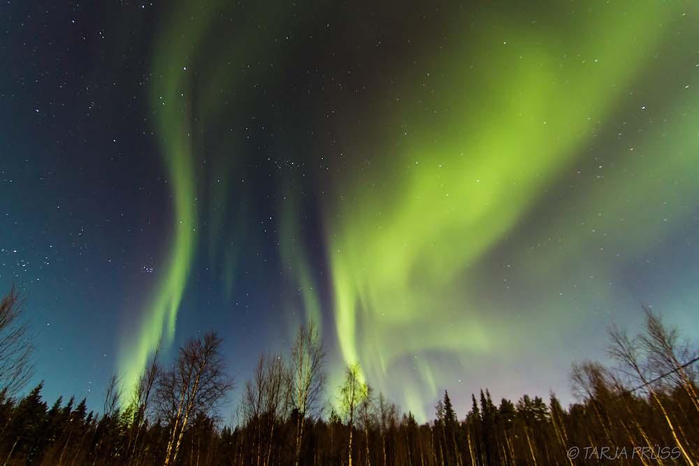 polarlichter yllaes finland