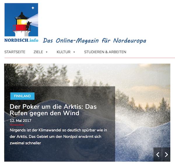 Klimwandel Arktis: Poker um die Arktis in: NORDISCH.info