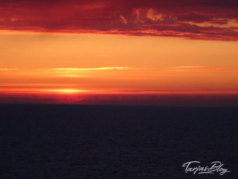 Liebe zum Meer: Finnlines_Ostsee_sundown © Tarja Prüss
