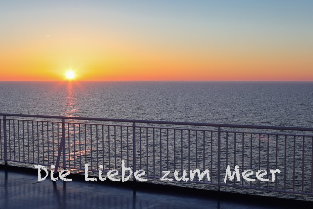 Sundown Ostsee © Tarja Prüss