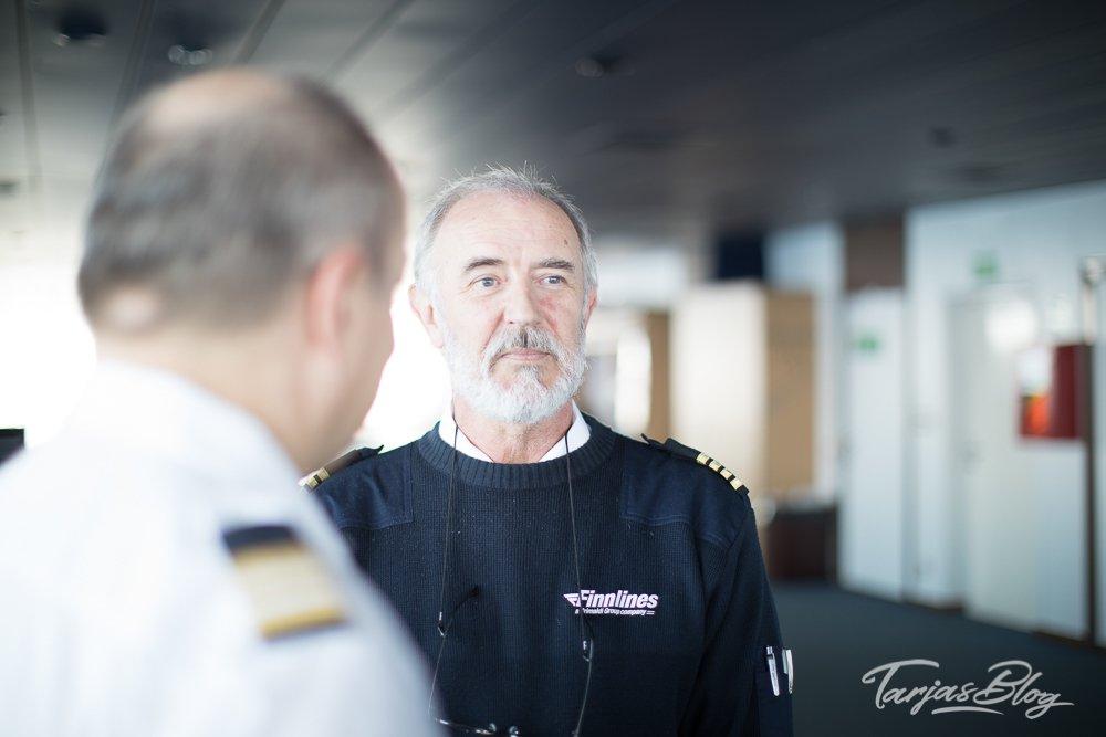 Mikael Ejda, Kapitaen auf Finnmaid © Tarja Prüss