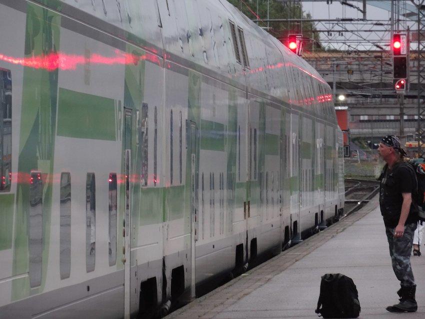 Mittsommerzug von Helsinki nach Rovaniemi. Foto: © Tarja Prüss