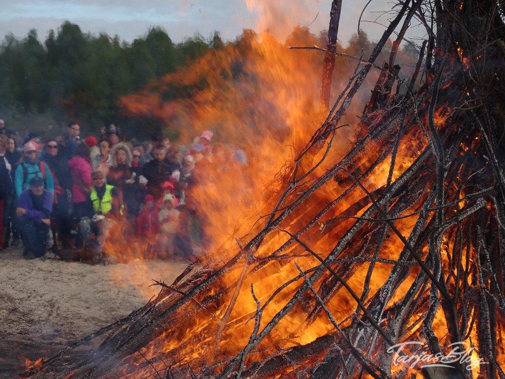 Juhannus kokko, Oulu Finnland © Tarja Prüss