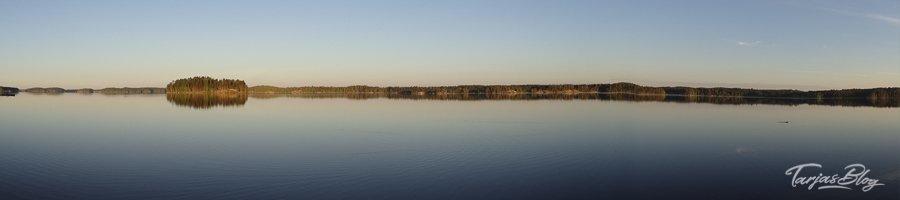 Morgenstimmung im Saimaa Seengebiet - kurz nach Sonnenaufgang Puumala, Saimaa-Seengebiet, Finnland ©Foto: Tarja Prüss