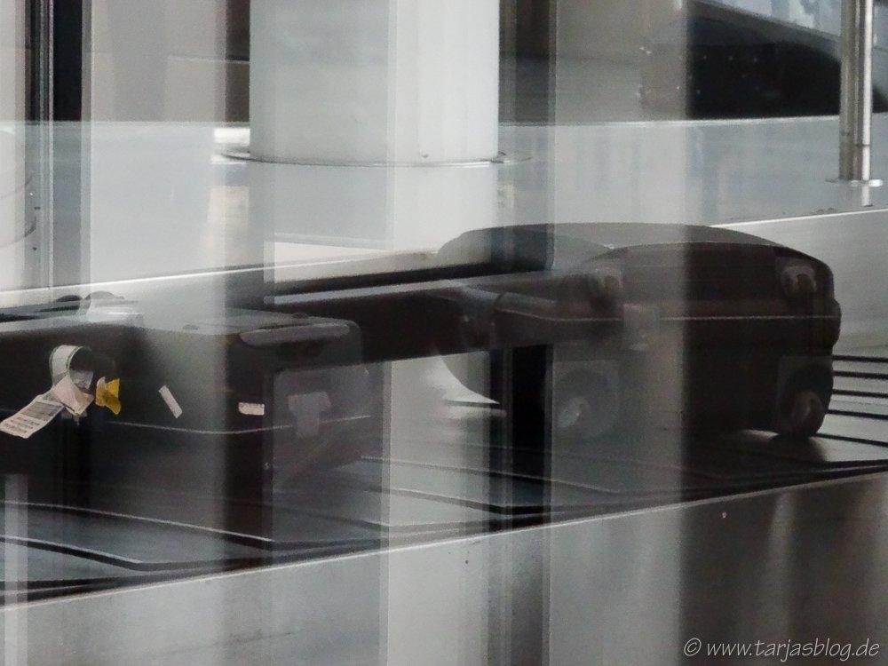 Kofferband am Flughafen Helsinki ©Foto: Tarja Prüss