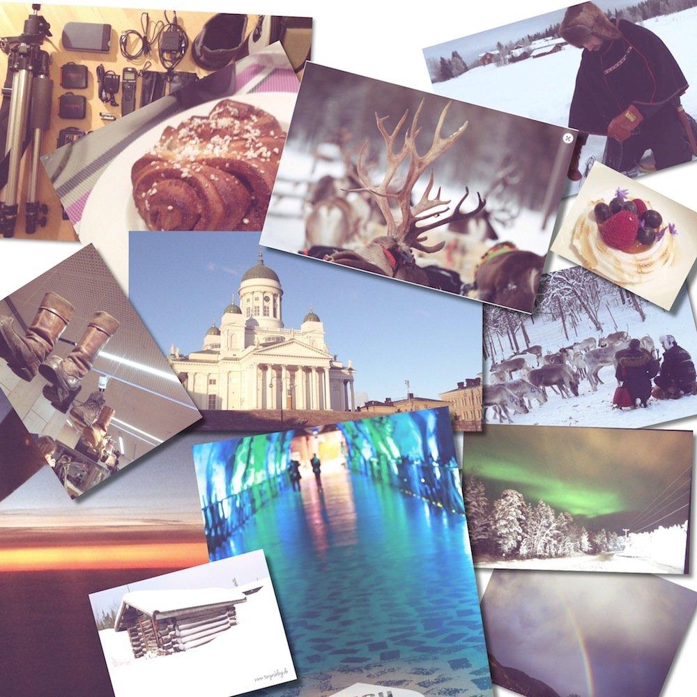 Happy Birthday Finland - Collage ©Tarja Prüss | tarjasblog.de 2017