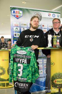Eishockey Spieler Panu Hyyppä EC Bregenzerwald ©Foto: Tarja Prüss | tarjasblog.de 2017