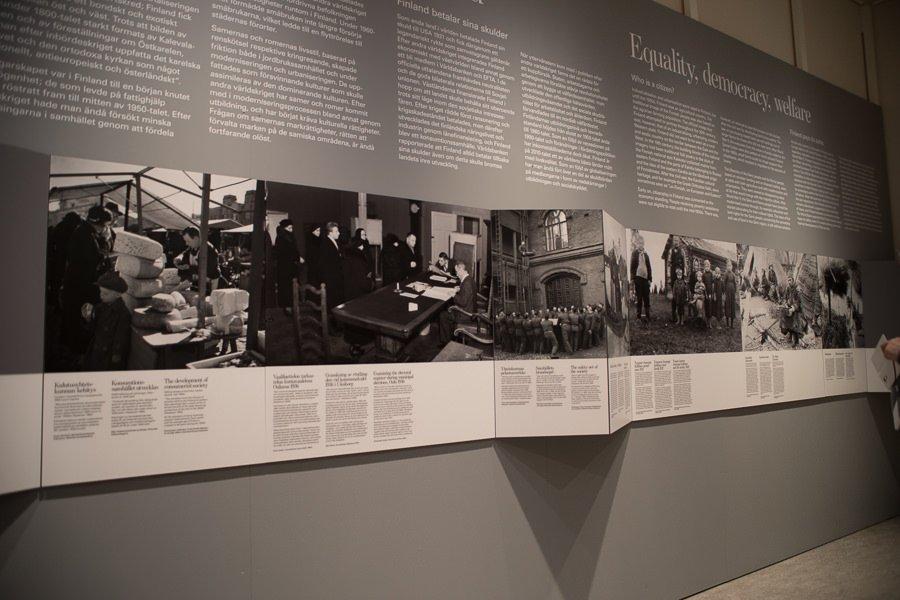 Das versteckte Finnland - Ausstellung im Kansallismuseo Helsinki.