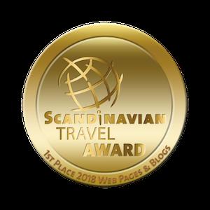 Scandinavian Travel Award 2018 - 1. Platz in der Kategorie Webseiten für Tarjas Blog - Alles über Finnland
