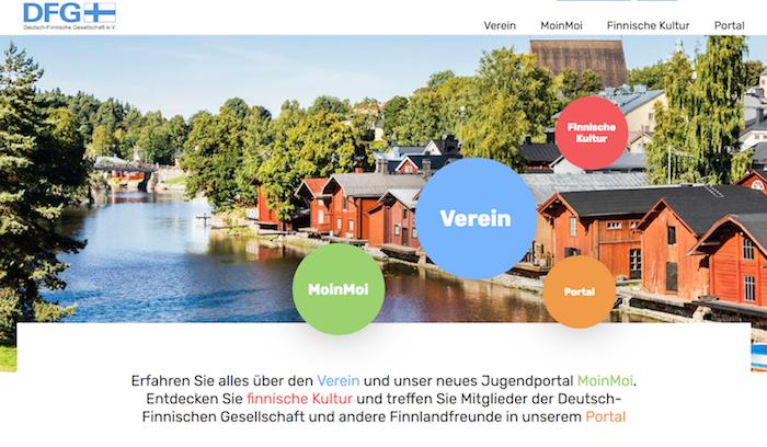 Der neue Webauftritt der DFG - www.dfg-ev.de