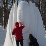 1. Baltic Snow Call in Oulu Finnland -Work in process ©Foto: Tarja Prüss | Tarjas Blog - Alles über Finnland