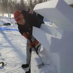 1. Baltic Snow Call in Oulu Finnland -Work in process - The finnsih team with Antti Kolppo ©Foto: Tarja Prüss | Tarjas Blog - Alles über Finnland