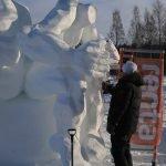 1. Baltic Snow Call in Oulu Finnland -Work in process - The polnish team ©Foto: Tarja Prüss | Tarjas Blog - Alles über Finnland