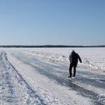Eislaufen auf dem See in Tampere, ©Foto: Tarja Prüss | tarjasblog.de - Alles über Finnland