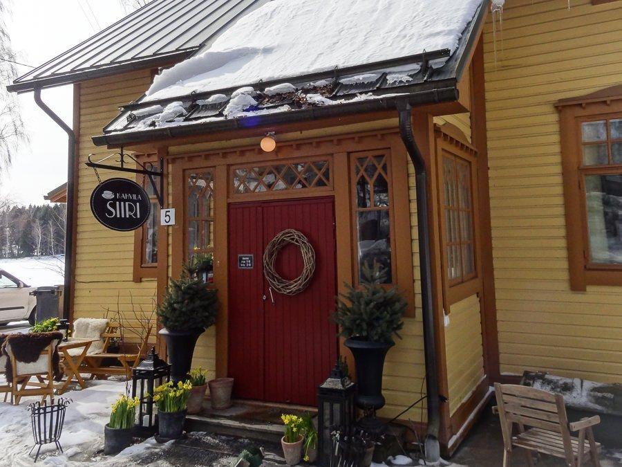 Café Siiri in Lempäälä außen ©Foto: Tarja Prüss | Tarjas Blog - Reiseblog Finnland
