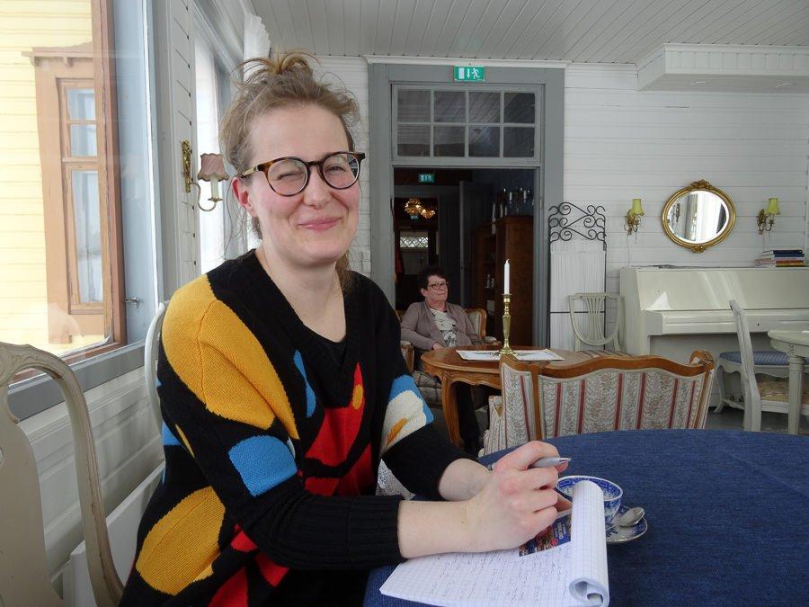 Journalistin Katariina Rannaste von Lempäälän vesilahden sanomat ©Foto: Tarja Prüss | Tarjas Blog - Reiseblog Finnland