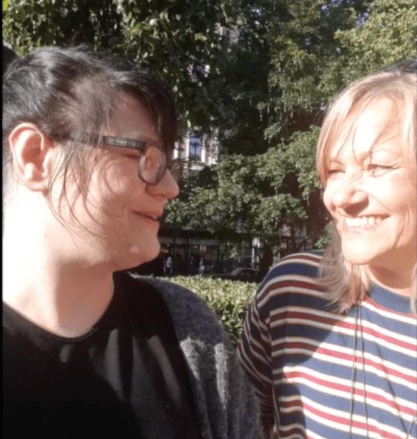 Tine und Tarja in Helsinki im Interview zu 111 Orte in Helsinki die man gesehen haben muss.