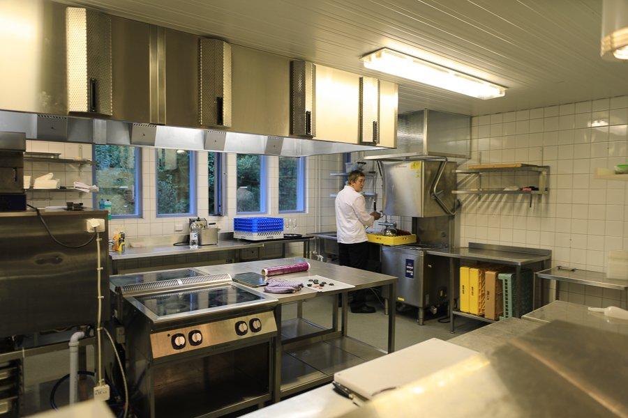 Koch-WM: Küche im Trainingslager in Helsinki ©Foto: Tarja Prüss | Tarjas Blog - Alles über Finnland