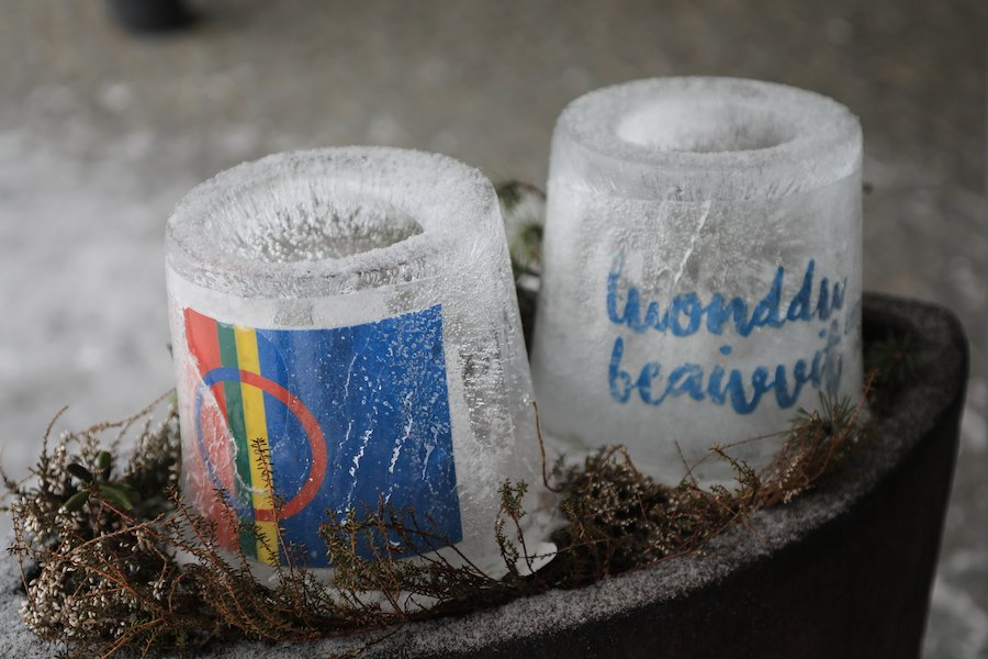Eislicht Eiskerzen ©Foto: Tarja Prüss | Tarjas Blog - Reiseblog Finnland