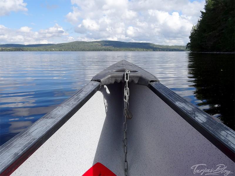 Mit dem Ruderboot zur Insel Honkinen Finnland ©Foto: Tarja Prüss   Tarjas Blog - Reiseblog Finnland