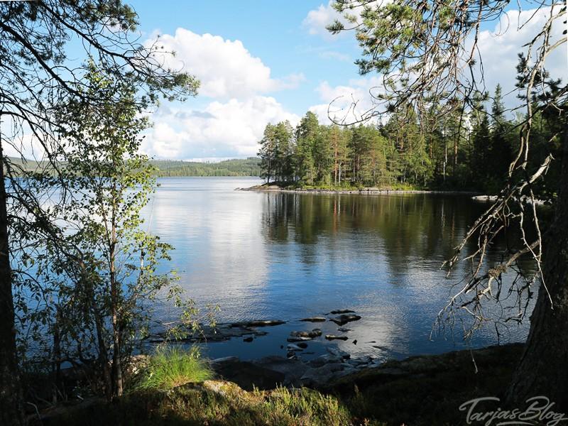 Stille auf der Insel Honkinen, Region Vuokatti - Finnland ©Foto: Tarja Prüss   Tarjas Blog - Reiseblog Finnland