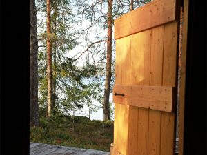 Blick aus Kota auf der Insel Honkinen, Region Vuokatti - Finnland ©Foto: Tarja Prüss   Tarjas Blog - Reiseblog Finnland