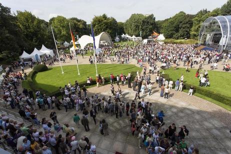 Bürgerfest am Amtssitz des Bundespräsidenten © Foto: Henning Schacht
