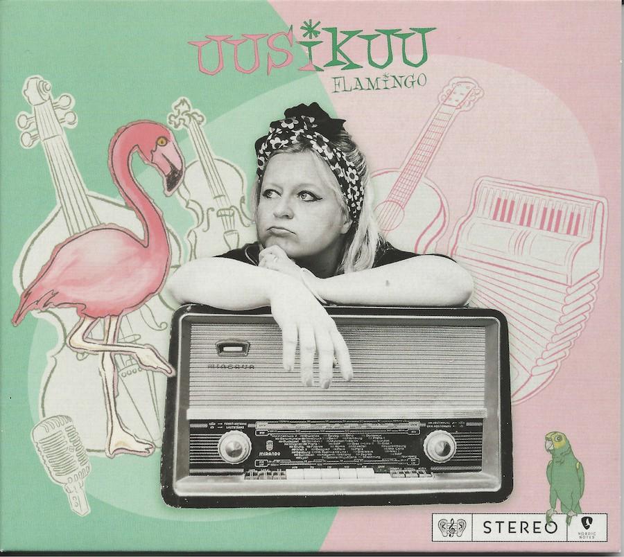 Uusikuu CD Cover Flamingo ©Uusikuu