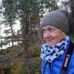 Tarja Prüss in Inari Finnland