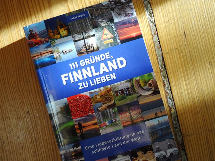 Buchcover: Tarja Prüss: 111 Gründe Finnland zu lieben