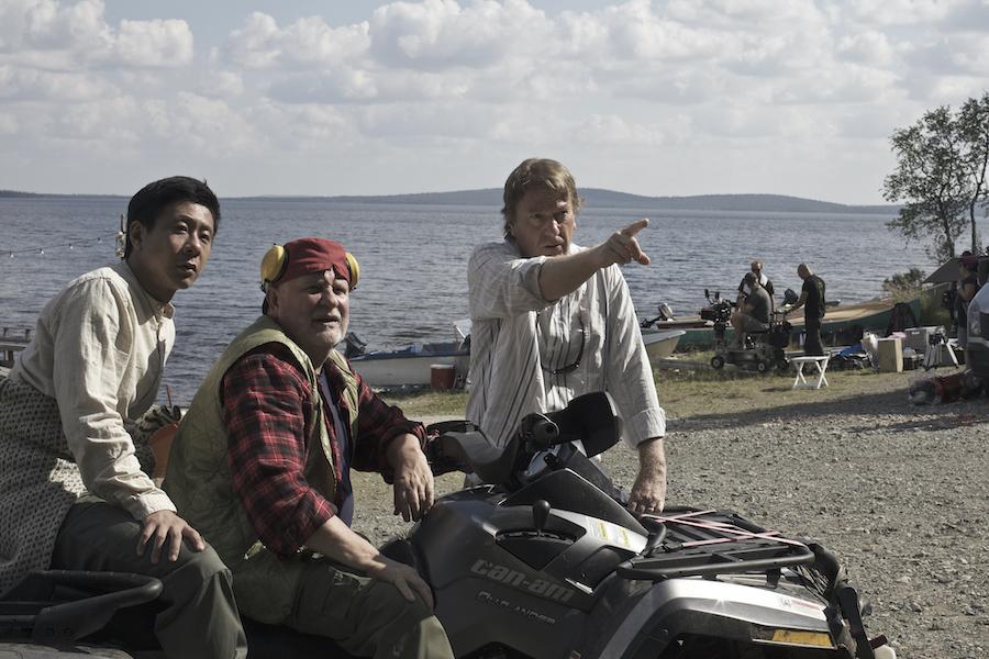 v.l. Chu Pak Hong, Kari Väänänen, Regisseur Mika Kaurismäki© 2019 MARIANNA FILMS OY, BY MEDIA, HAN RUAN YUAN HE