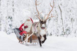 Joulupukki | Weihnachtsmann von hinten ©VisitFinland