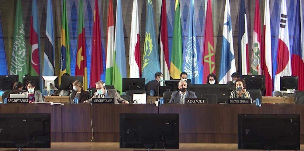 Unesco Intangible Heritage (Screenshot Live Übertragung)