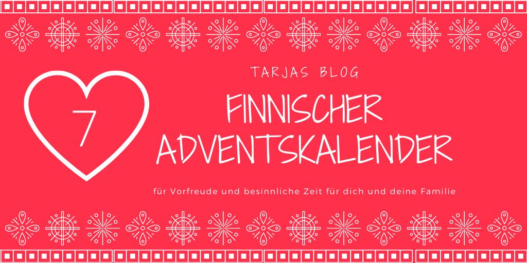 Finnischer Adventskalender ©Tarjas Finnlandblog