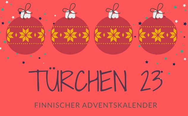 Finnischer Adventskalender ©Tarja Prüss | Tarjas Finnlandblog
