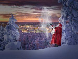 Weihnachtsmann ©VisitFinland