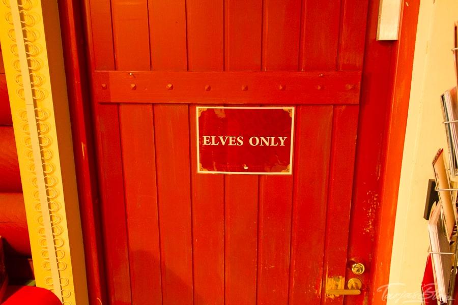 Eingangstür für Elfen