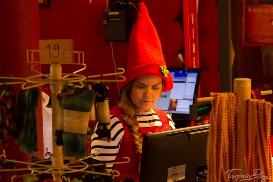 Tonttu Weihnachtswichtel ©Tarjas Finnlandblog