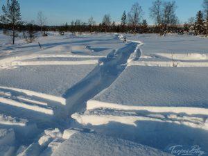 Eis und Schnee in Hetta ©Tarja Prüss | Tarjas Finnlandblog