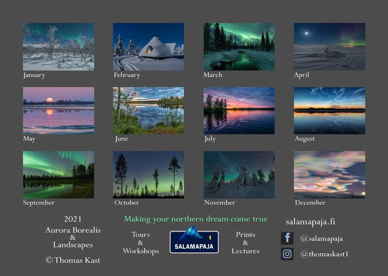 Thomas Kast Kalender 2021 ©Thomas Kast Salamapaja