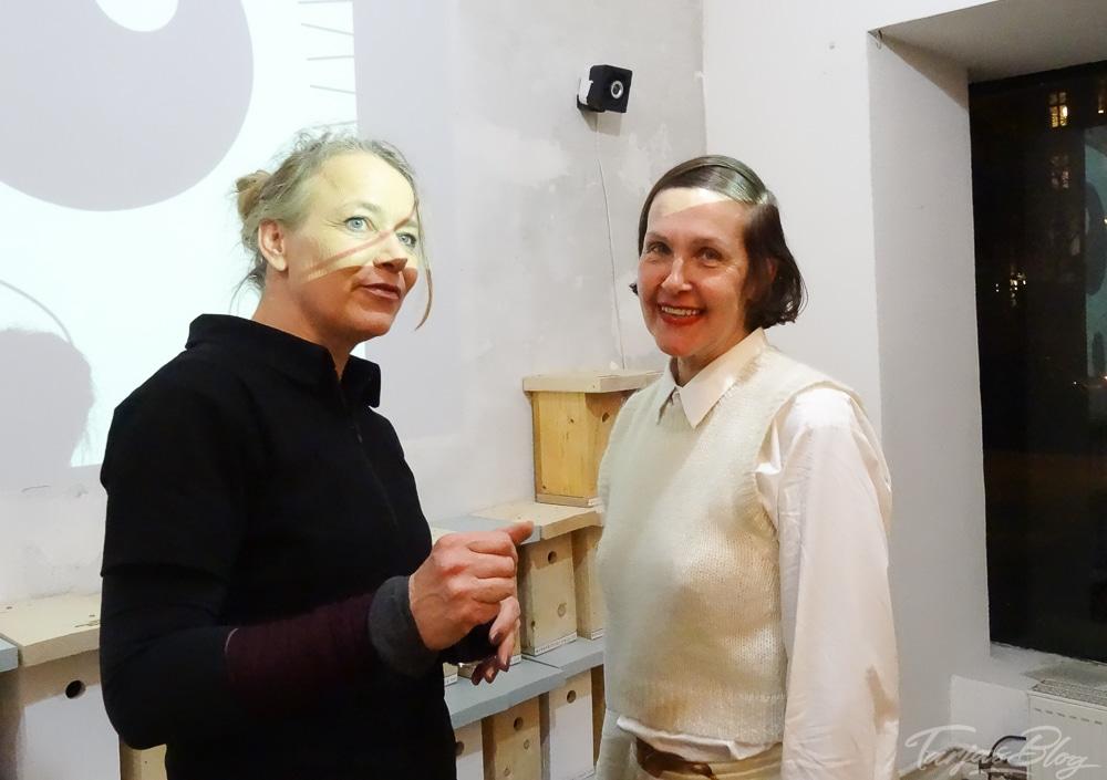 Jaana Prüss und Maria-Leena Räihälä