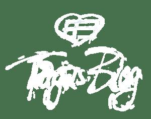 tb logo weiss