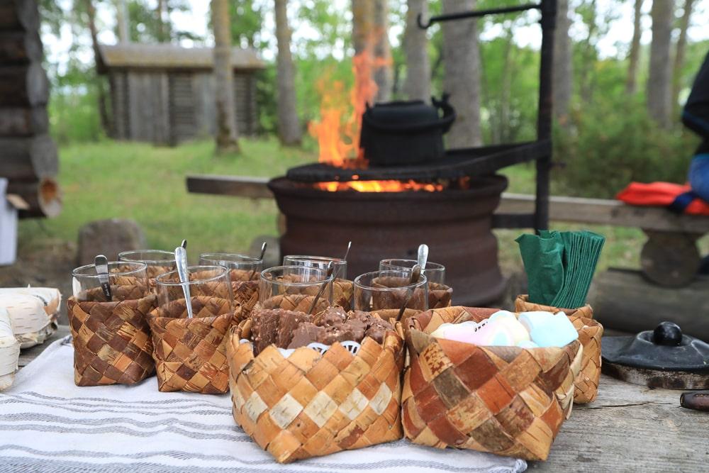 Mittsommer feiern mit Lagerfeuer ©Tarja Prüss - Tarjas Blog